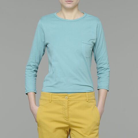 T-Shirt Manica 3/4 In Jersey