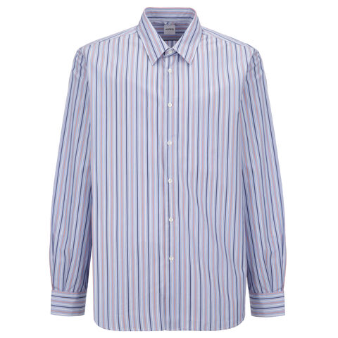 Comma Shirt In Stripe Poplin