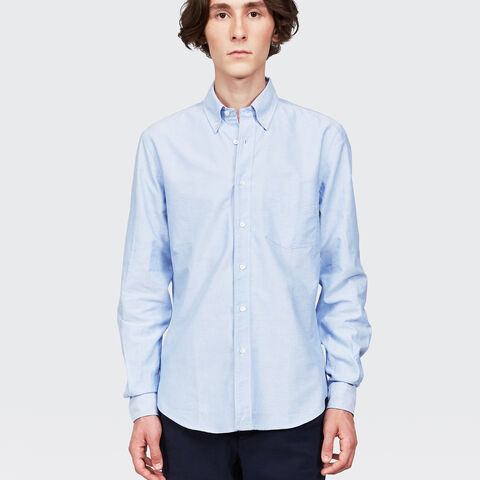 B.D. Magra Chambray Cotton Shirt