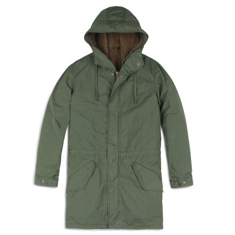 Lambrettina Long Padded Jacket