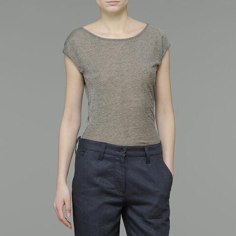 T-Shirt In Jersey Con Maniche