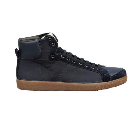 Sneakers Alte In Canvas E Sued