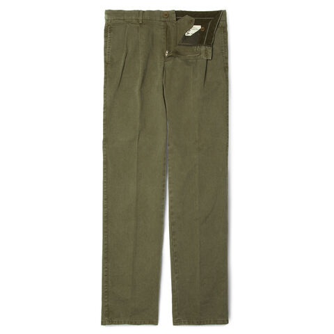 Gabardine New Banana Slim Trousers