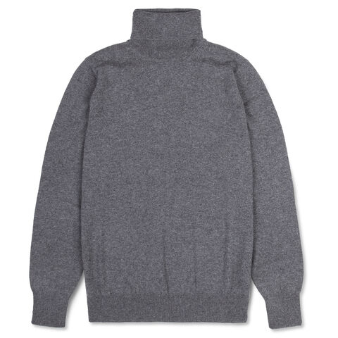 Cashmere Roll-Neck Sweater Mod. M017