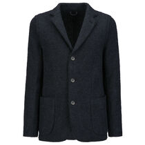 BOILED BLAZER IN WOOL
