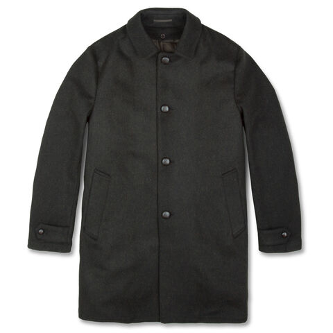 Loden Wool Perfetto Coat