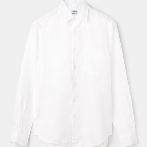 Sedici Shirt In Faded-Look Linen