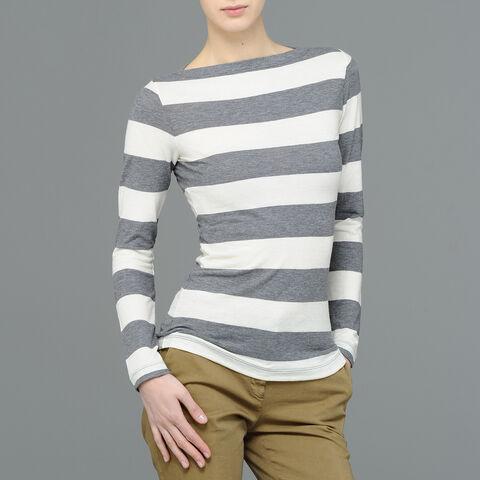 T-Shirt In Jersey Misto Lana R