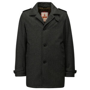 LIGHT PADDING TRENCH-TECHNO WOOL