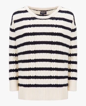 W'S NORMANDY BOXY CREW NECK