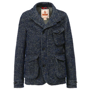 BLAZER-DONEGAL CURLY TWEED