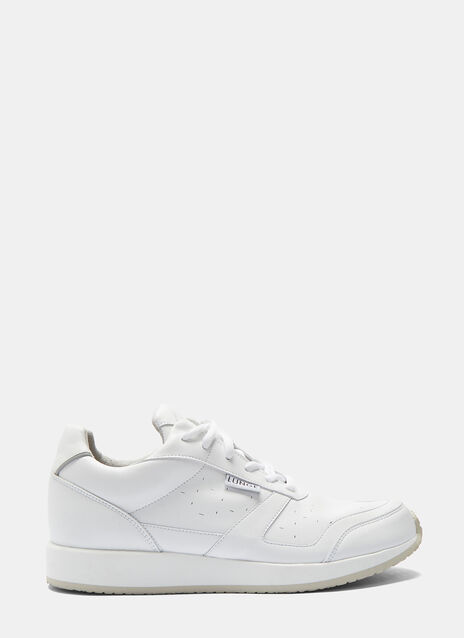 LUNGE TRAINERS CLASSIC WALK GLATT IN WHITE
