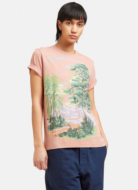 Landscape Print T-Shirt