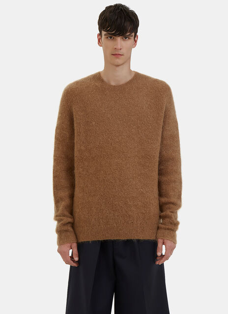 Kosti Mohair Crew Neck Sweater