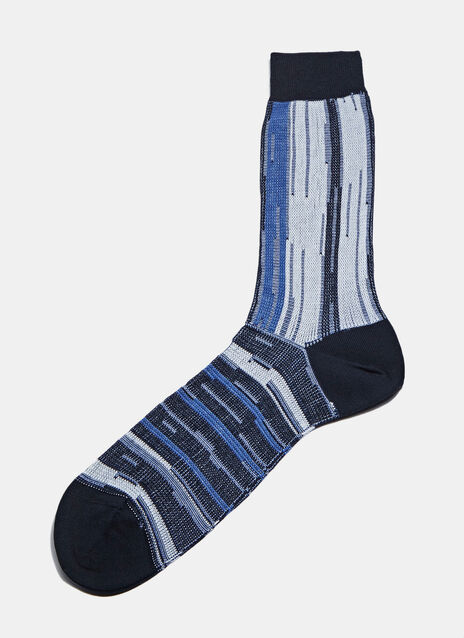 #4 Wide Striped Socks