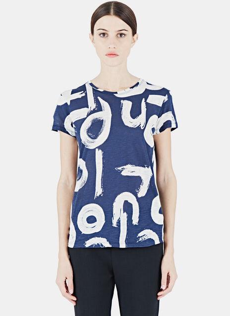 Tissue Print T-Shirt