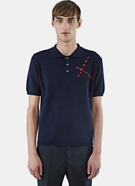 Hand-Stitched Polo Shirt