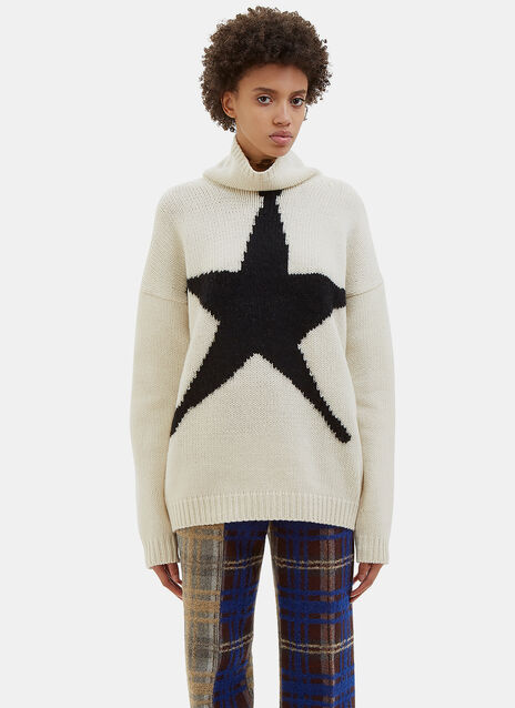 Saara Intarsia Star Knit Sweater