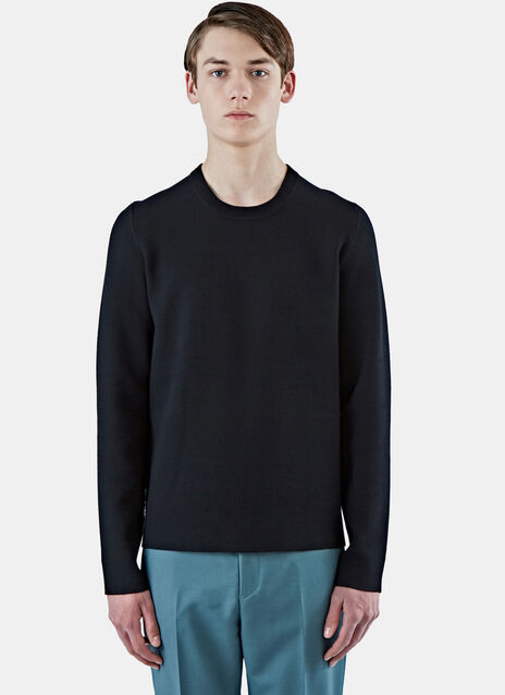 Lang Tight Stretch Crew Neck Sweater