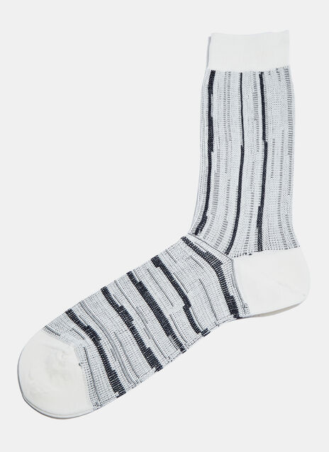 #2 Ribbed Stripe Socks