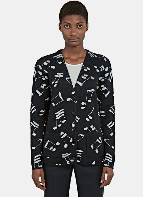 Music Knit Cardigan