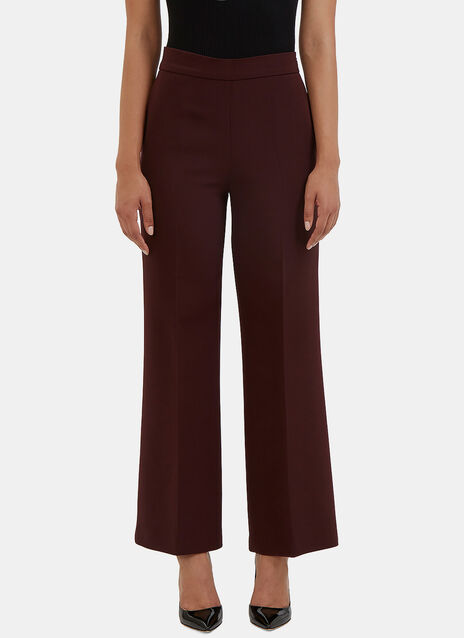 Wide Leg Flared Pants