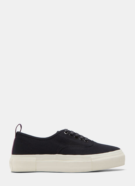 Mother Canvas Black Sneaker
