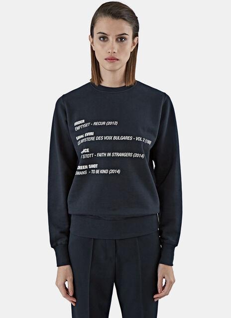 Show Music Crew Neck Sweater