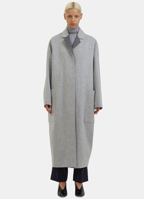Amery Oversized Double-Faced Wool Coat