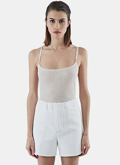 Fine Ribbed Cami Top