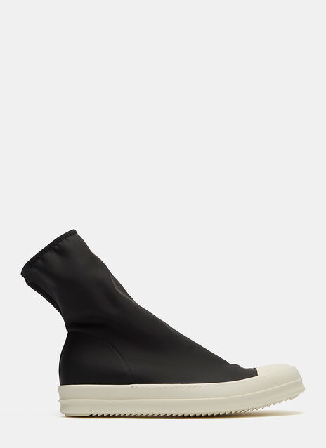 Rubber Scuba Sneaker Boots