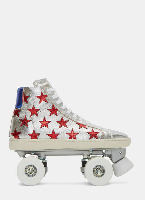 California Metallic Starry Sneaker Roller Skates