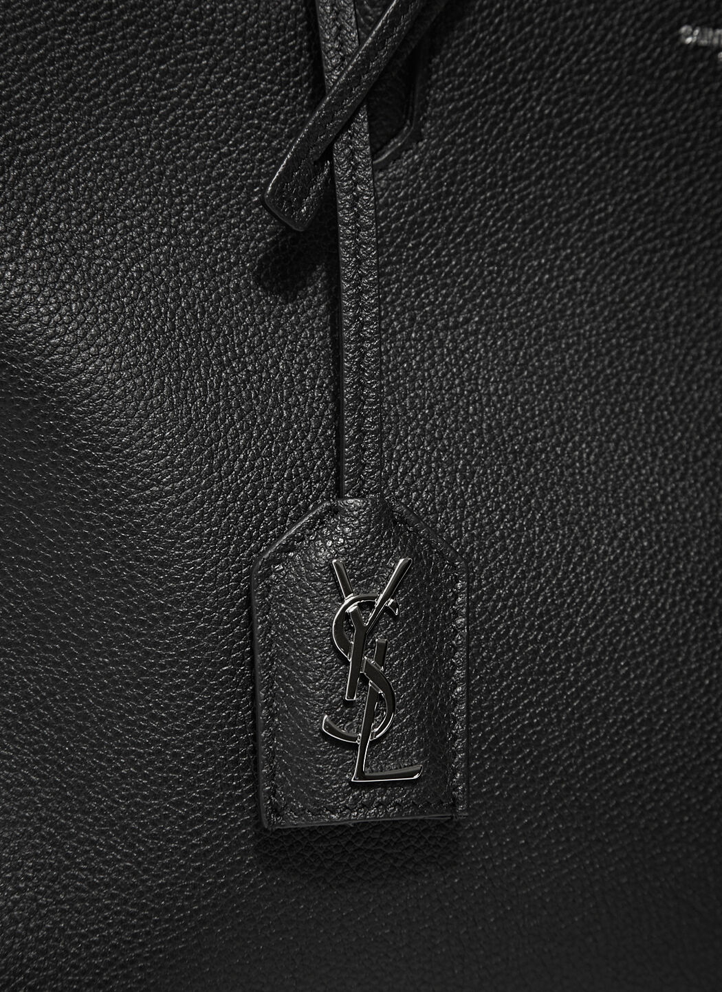 yves saint laurent faux - small cabas rive gauche bag in black, red, dove white, light blue ...