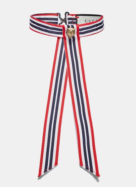 Webbis Striped Tiger Necktie