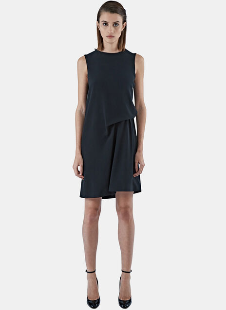 Caprice Mid-Length Draped Dress
