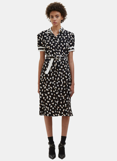 Ella Polka Dot Fil Coupé Dress