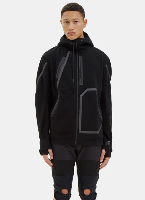Hooded Taped Seam Jacket