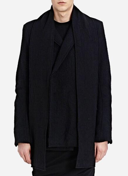 Notch collar 2 button double blazer