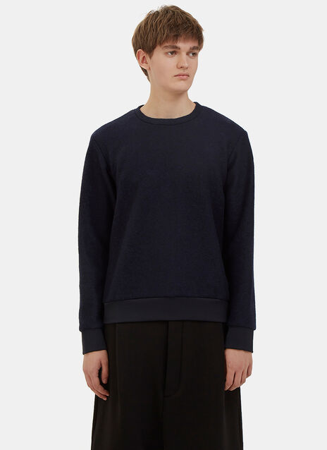 Heron Wool Crew Neck Sweater