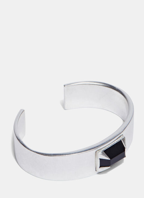 Rectangle Deco Stone Bracelet