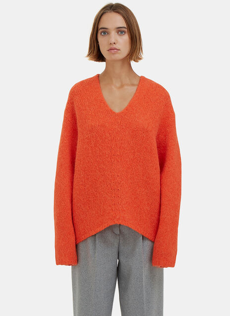 Deborah Oversized Alpaca Knit Sweater