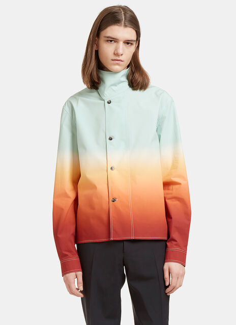 Ombré Shirt Jacket
