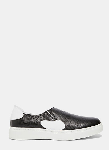 Slip-On Leather Sneakers