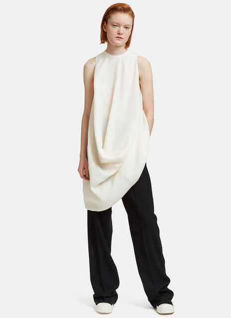La Brea Long Draped Top