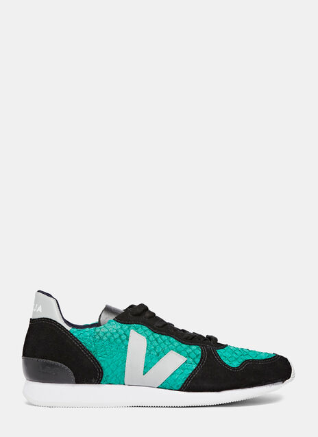 Holiday Low-Top Tilapia Leather Sneakers