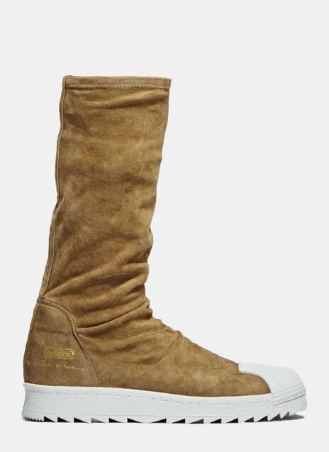 X adidas Suede Superstar Boots