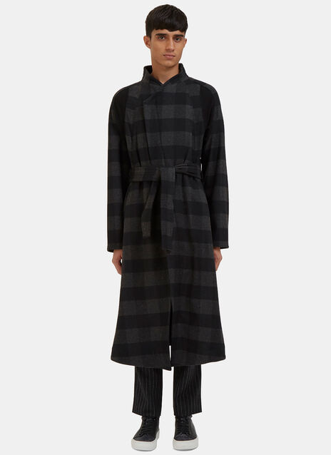 Arc Orison Checked Coat