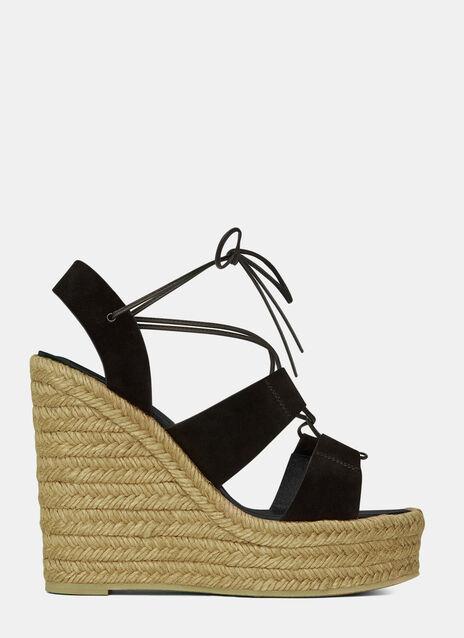 Wedged Espadrille Sandals