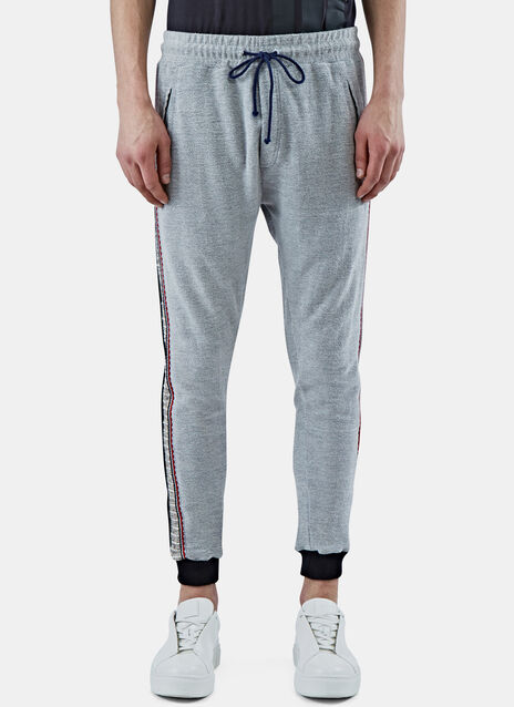 Loopback Embroidered Sweatpants