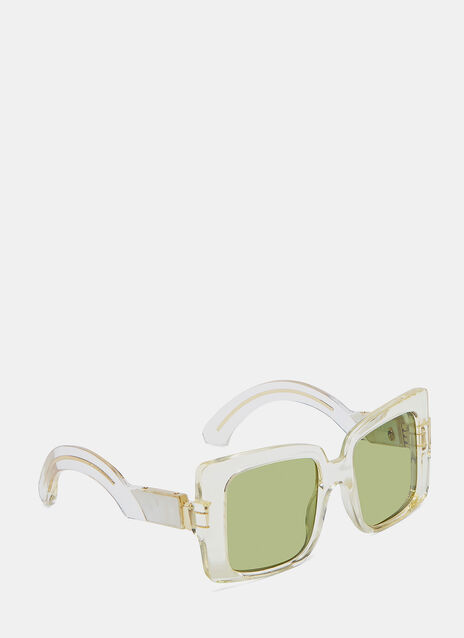 JACQUES MARIE MAGE LIANE SUNGLASSES IN CHAMPAGNE